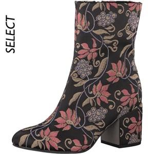 Tamaris-Schuhe-Stiefelette-BLACK-COMB-Art.:1-1-25024-29/098-TP