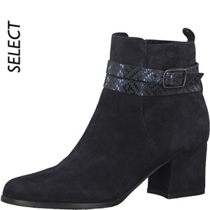 Tamaris-Schuhe-Stiefelette-NAVY-Art.:1-1-25057-29/805-TP