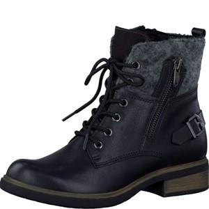 Tamaris-Schuhe-Stiefelette-BLACK-Art.:1-1-25140-29/001