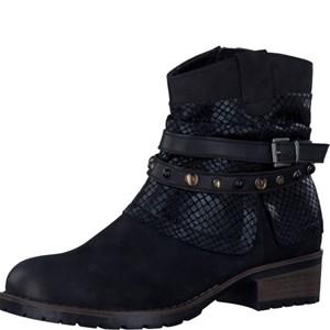 Tamaris-Schuhe-Stiefelette-BLACK-COMB-Art.:1-1-25311-29/098