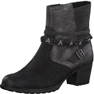 Tamaris-Schuhe-Stiefelette-BLACK-COMB-Art.:1-1-25360-29/098