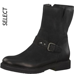 Tamaris-Schuhe-Stiefelette-BLACK-Art.:1-1-25487-29/001-TP