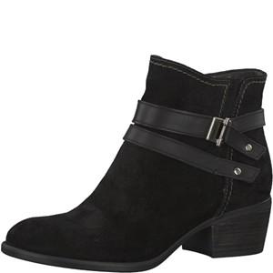Tamaris-Schuhe-Stiefelette-BLACK-UNI-Art.:1-1-25010-29/007