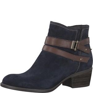 Tamaris-Schuhe-Stiefelette-NAVY/ESPRESSO-Art.:1-1-25010-29/863