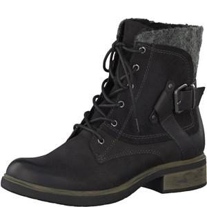 Tamaris-Schuhe-Stiefelette-BLACK-Art.:1-1-25101-29/001