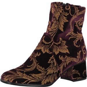 Tamaris-Schuhe-Stiefelette-BORDEAUX-COMB-Art.:1-1-25918-39/550