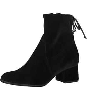 Tamaris-Schuhe-Stiefelette-BLACK-VELVET-Art.:1-1-25047-29/048