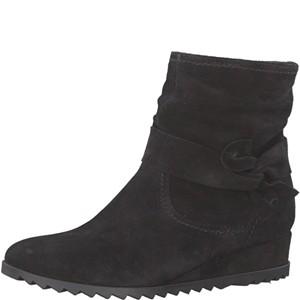 Tamaris-Schuhe-Stiefelette-BLACK-Art.:1-1-25006-29/001